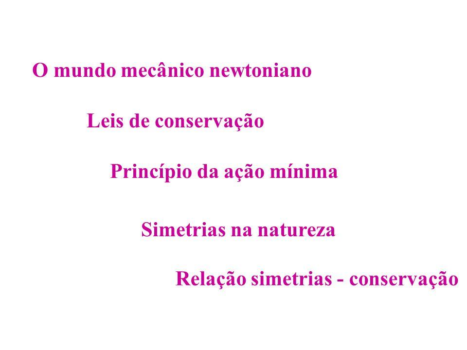 O mundo mecânico newtoniano