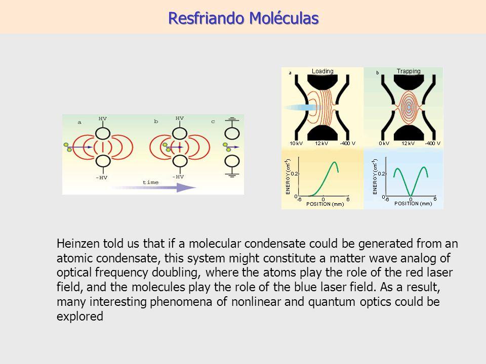 Resfriando Moléculas