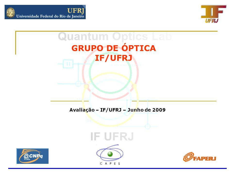 Avaliação – IF/UFRJ – Junho de 2009