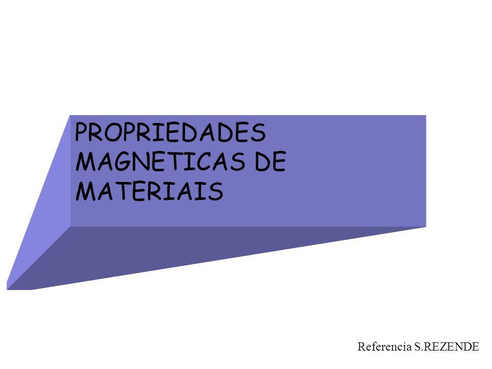 PROPRIEDADES MAGNETICAS DE MATERIAIS