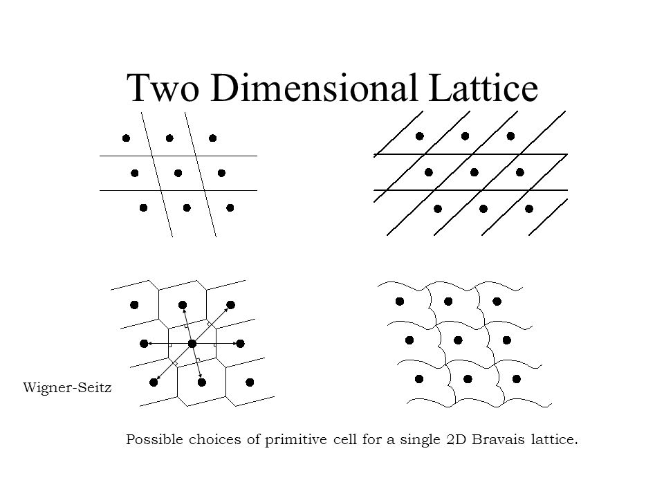 Two Dimensional Lattice
