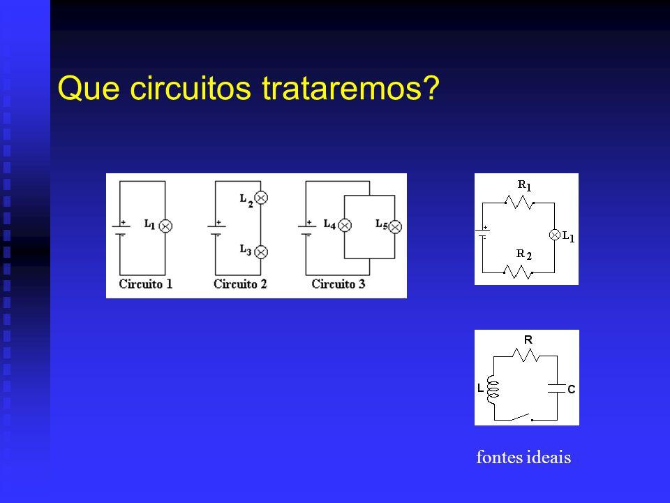 Que circuitos trataremos