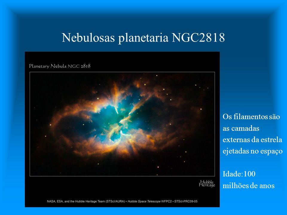 Nebulosas planetaria NGC2818