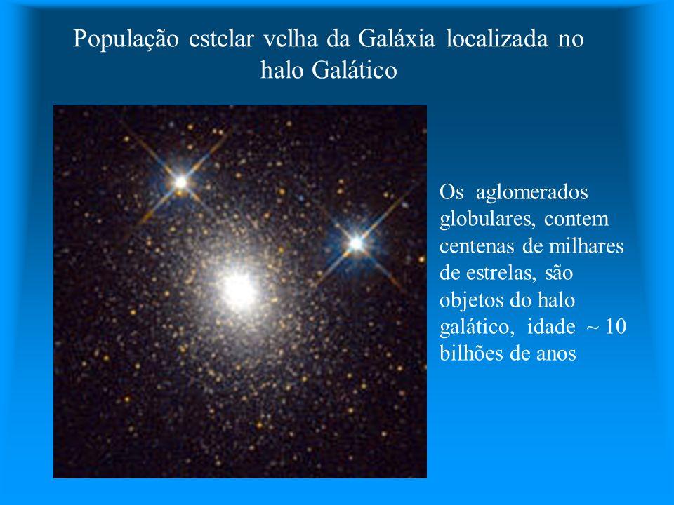 População estelar velha da Galáxia localizada no halo Galático