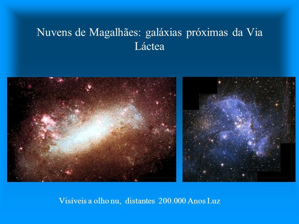 Nuvens de Magalhães: galáxias próximas da Via Láctea