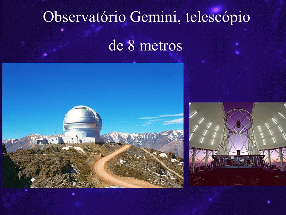 Observatório Gemini, telescópio