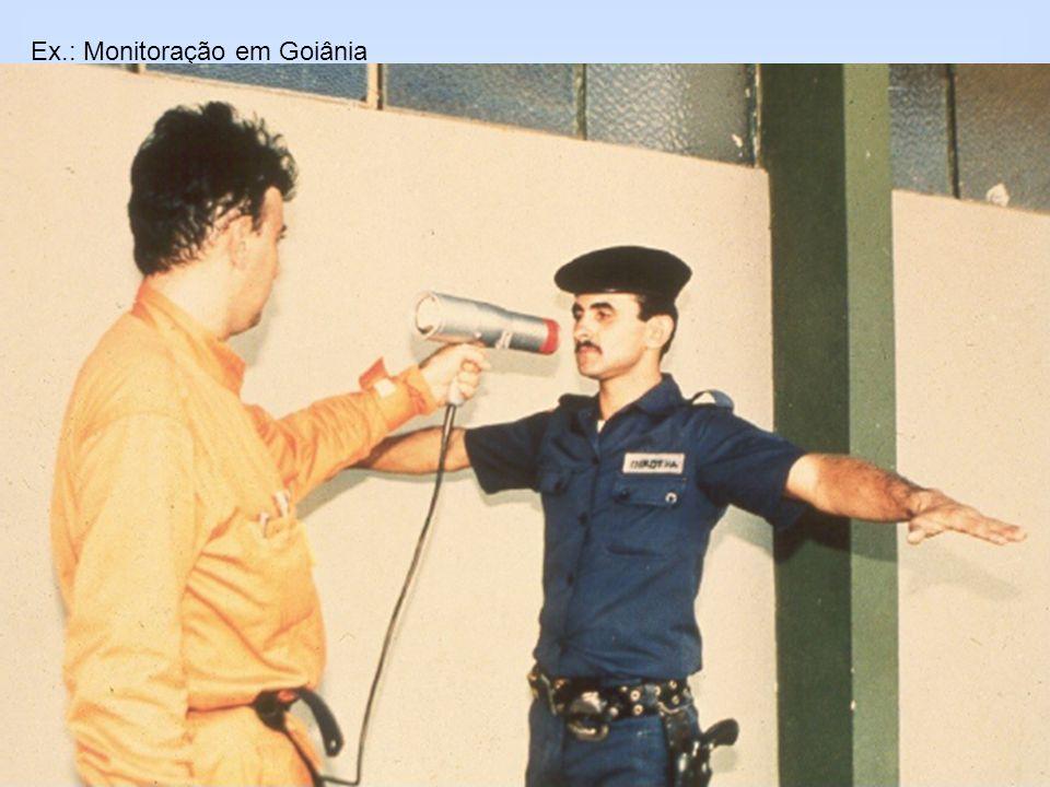 Ex.: Monitoração em Goiânia