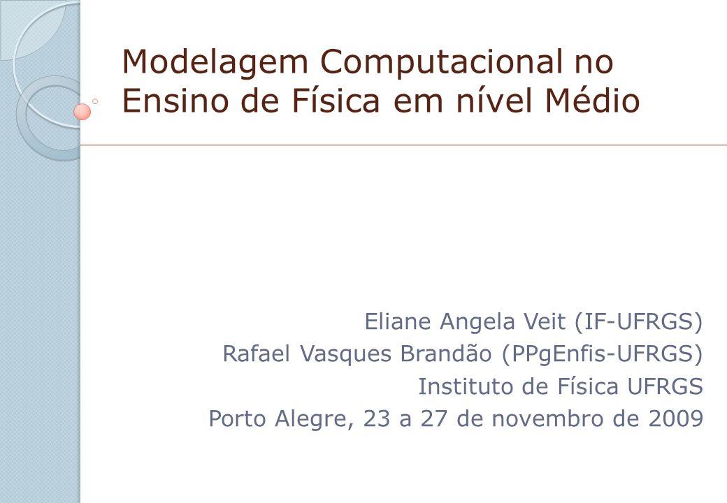 Modelagem Computacional no Ensino de Física em nível Médio