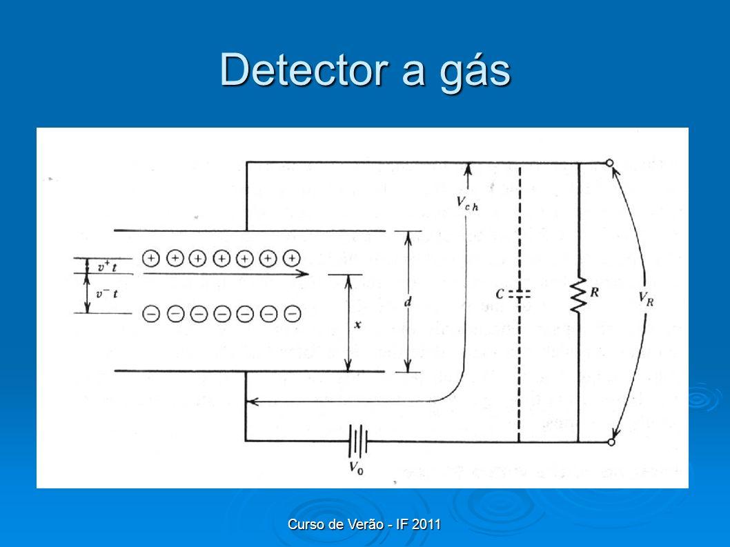 Detector a gás Curso de Verão - IF 2011
