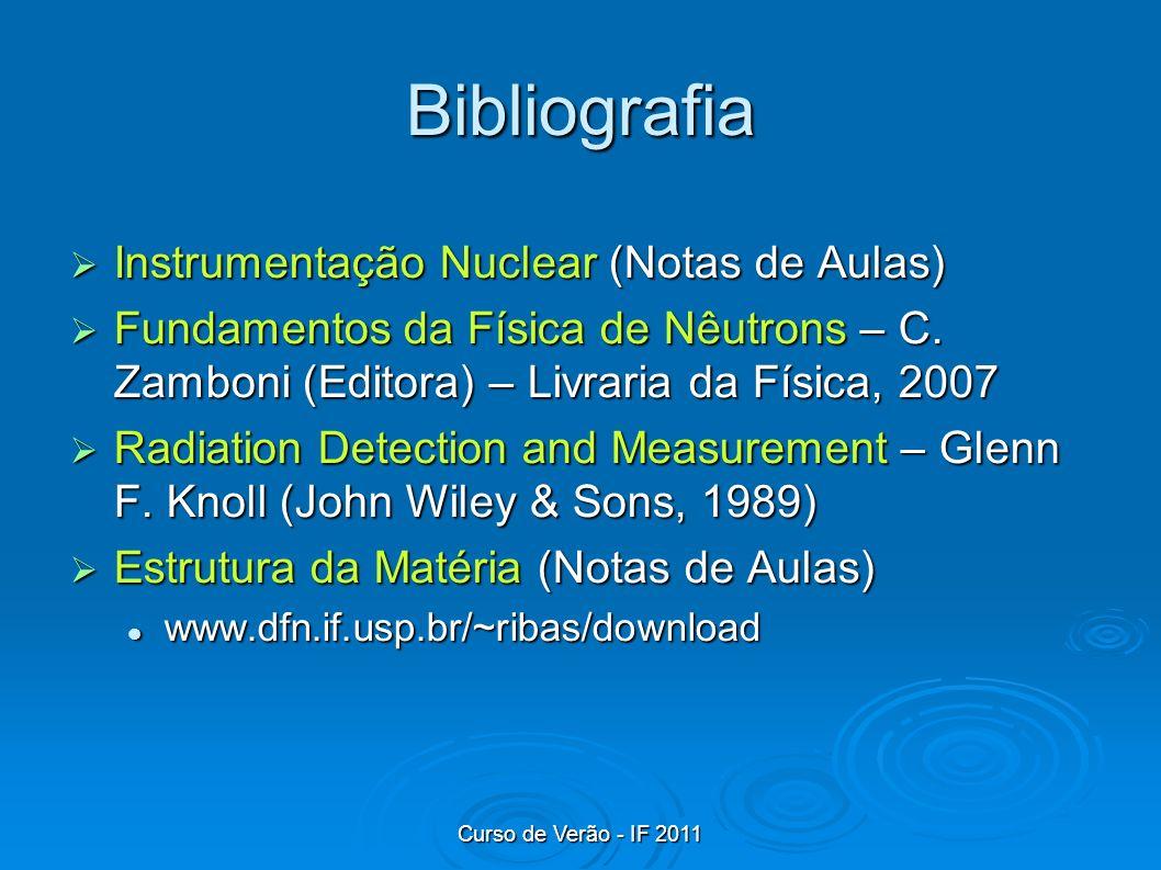 Bibliografia Instrumentação Nuclear (Notas de Aulas)