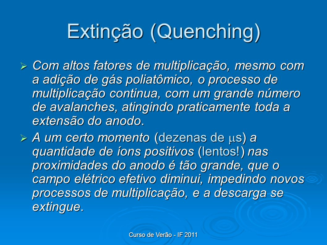 Extinção (Quenching)