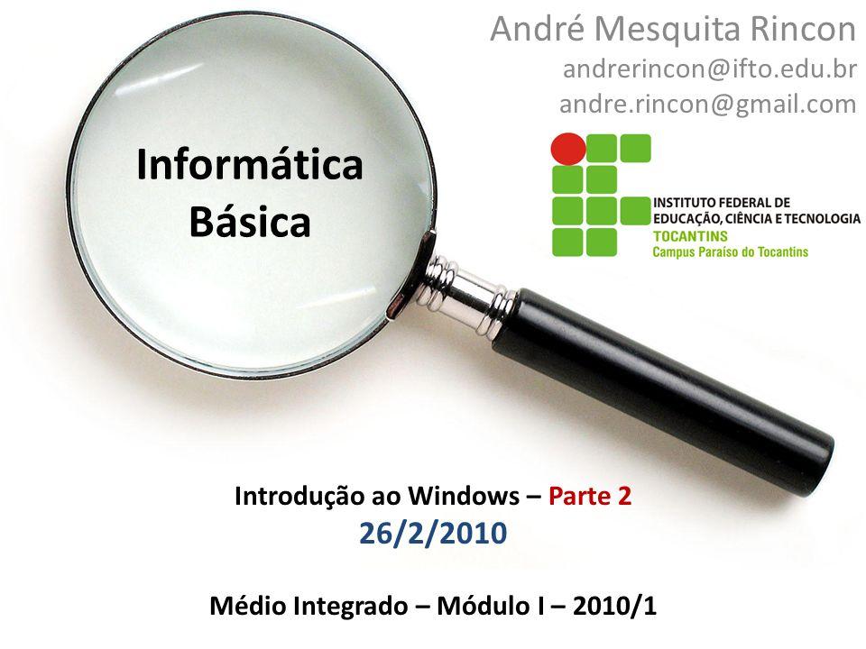 André Mesquita Rincon andrerincon@ifto.edu.br andre.rincon@gmail.com