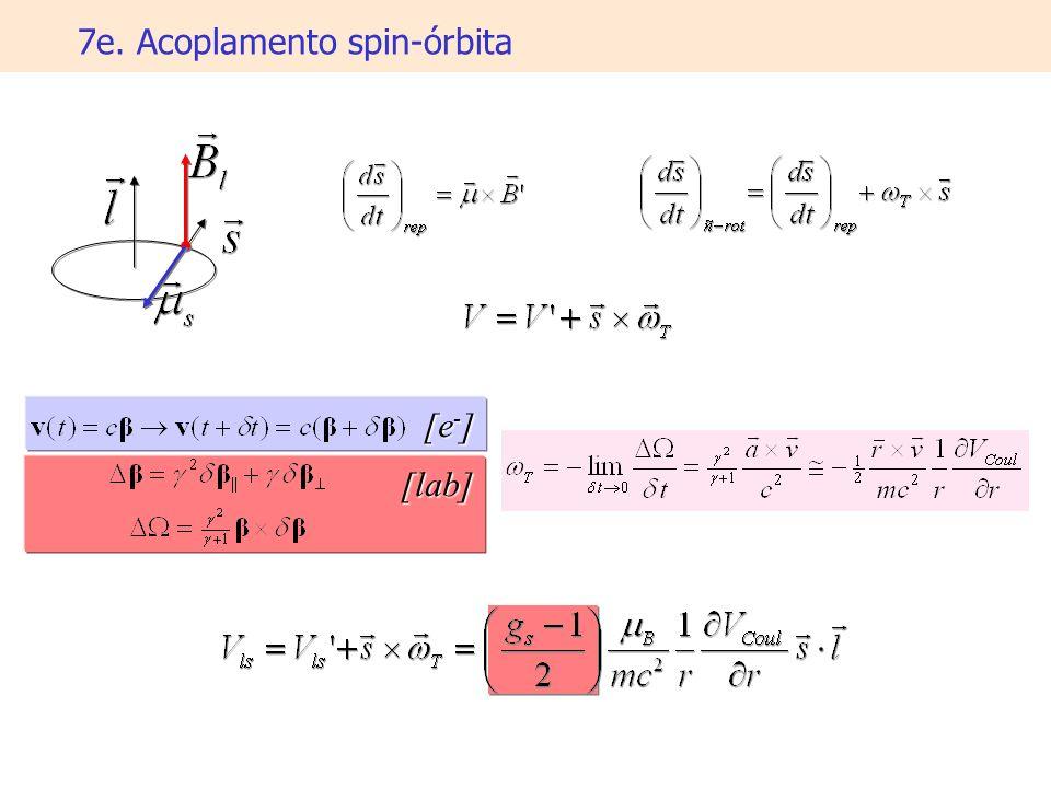 7e. Acoplamento spin-órbita