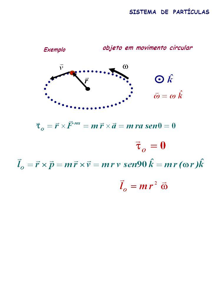 objeto em movimento circular
