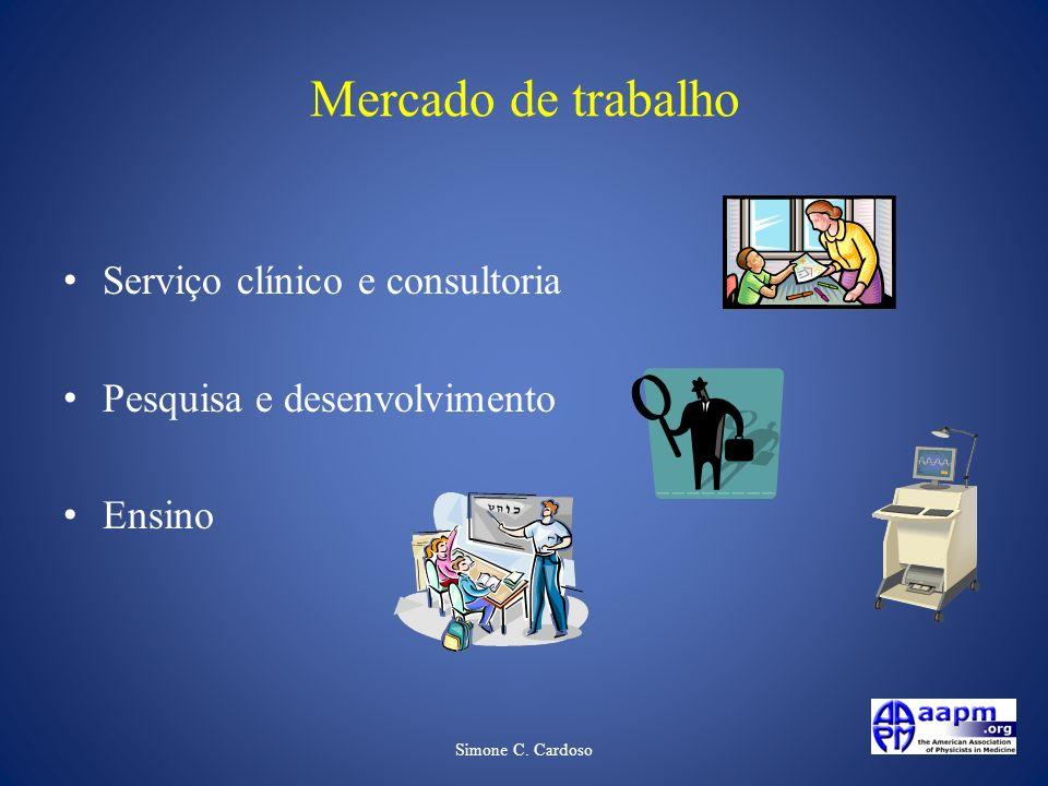 Mercado de trabalho Serviço clínico e consultoria