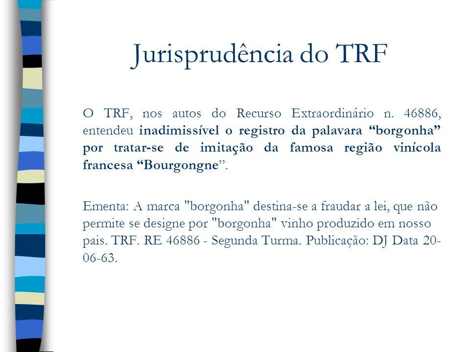 Jurisprudência do TRF