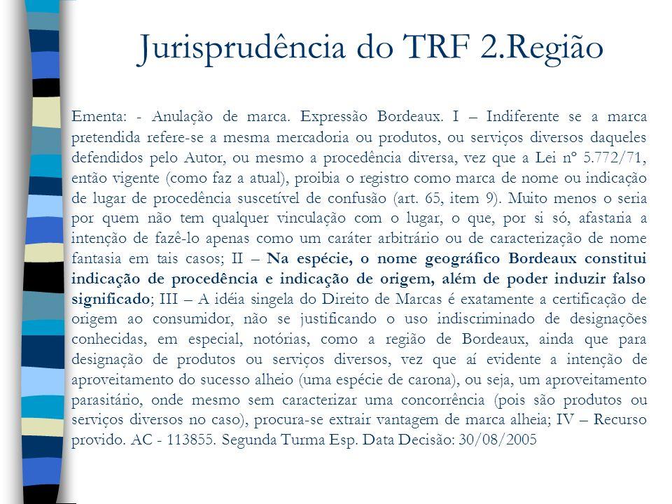 Jurisprudência do TRF 2.Região