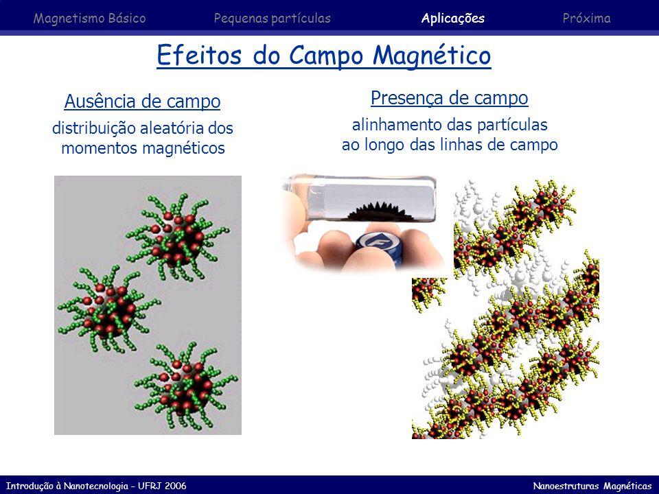 Efeitos do Campo Magnético