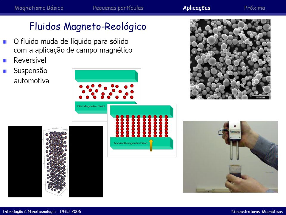 Fluidos Magneto-Reológico