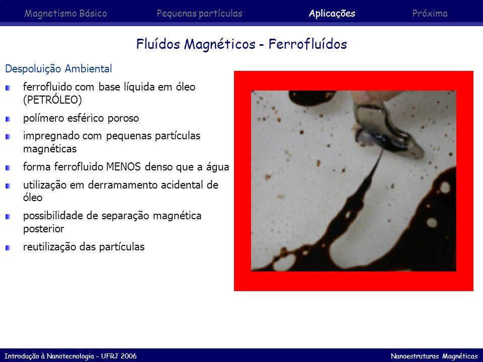 Fluídos Magnéticos - Ferrofluídos