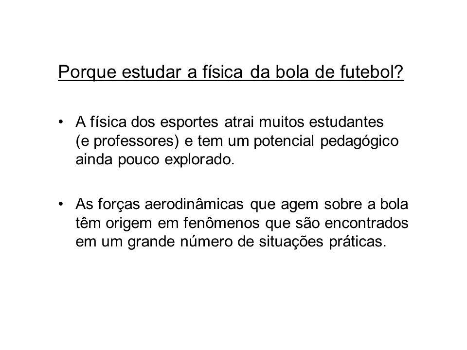 Porque estudar a física da bola de futebol