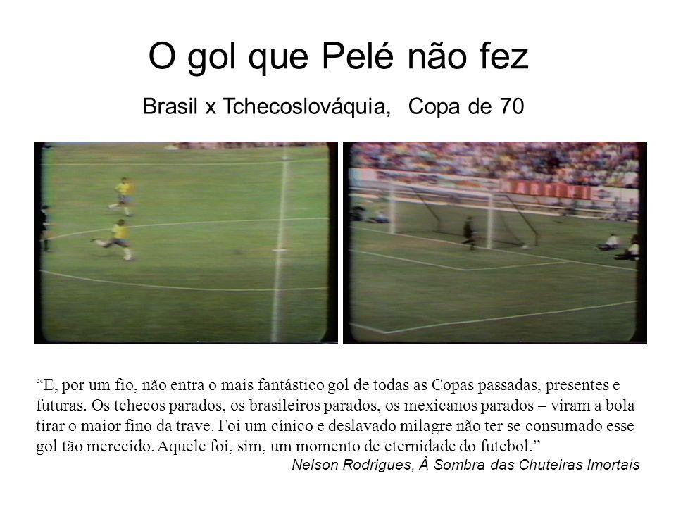 O gol que Pelé não fez Brasil x Tchecoslováquia, Copa de 70