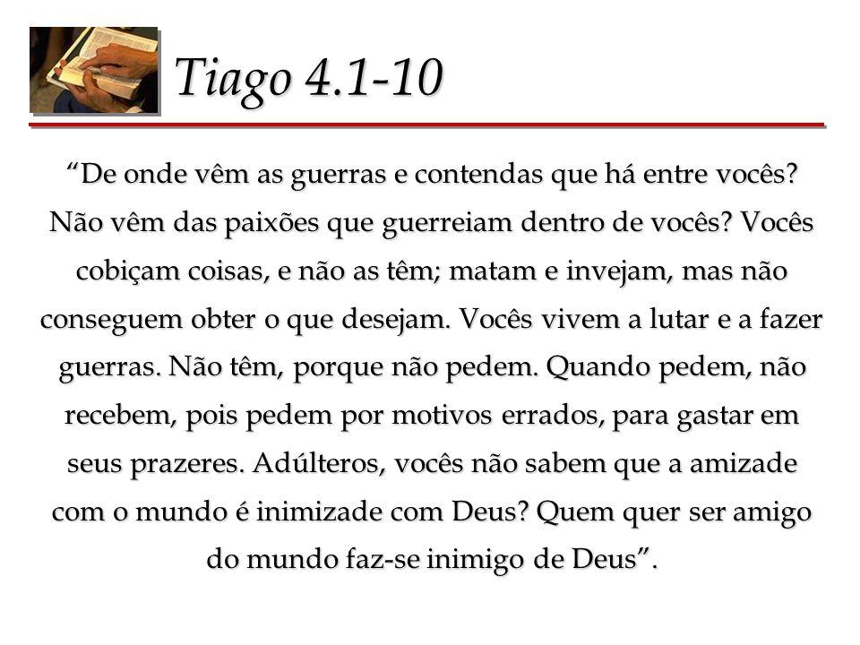 Tiago 4.1-10