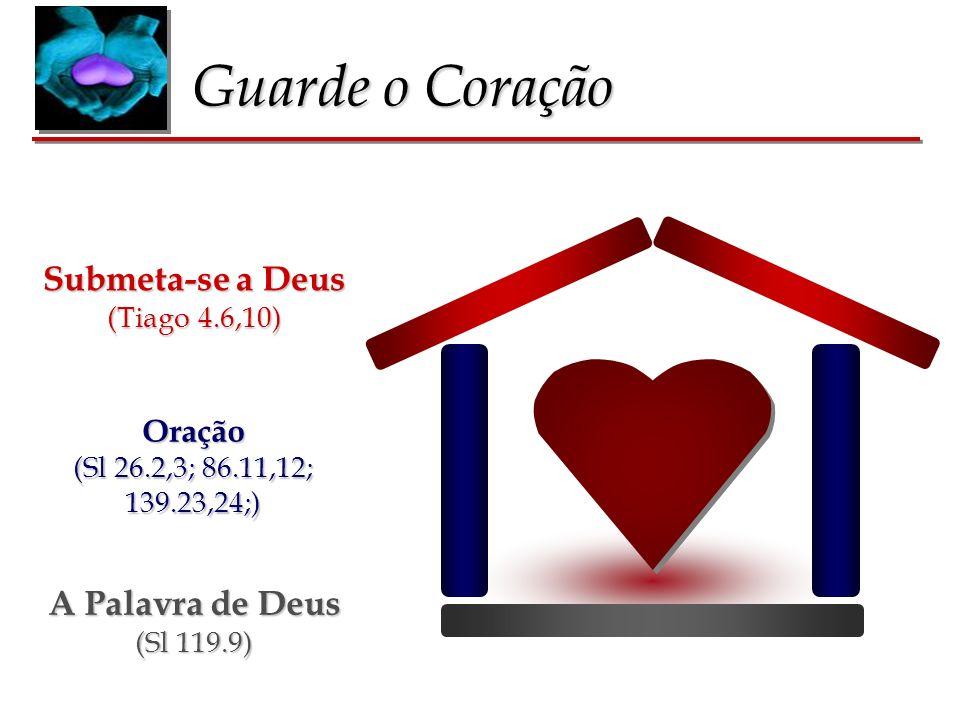 Guarde o Coração Submeta-se a Deus A Palavra de Deus Oração