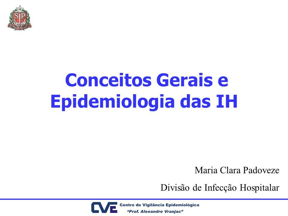 Conceitos Gerais e Epidemiologia das IH