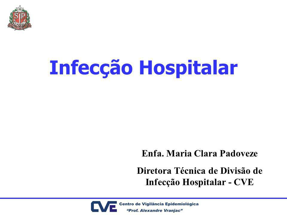 Infecção Hospitalar Enfa. Maria Clara Padoveze