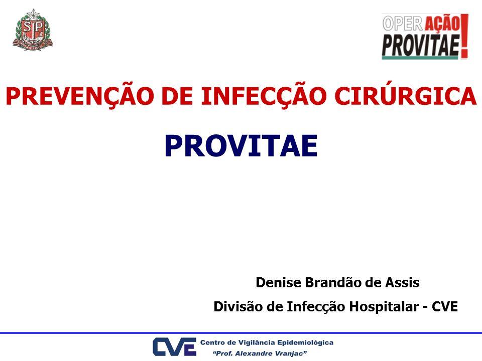PROVITAE PREVENÇÃO DE INFECÇÃO CIRÚRGICA