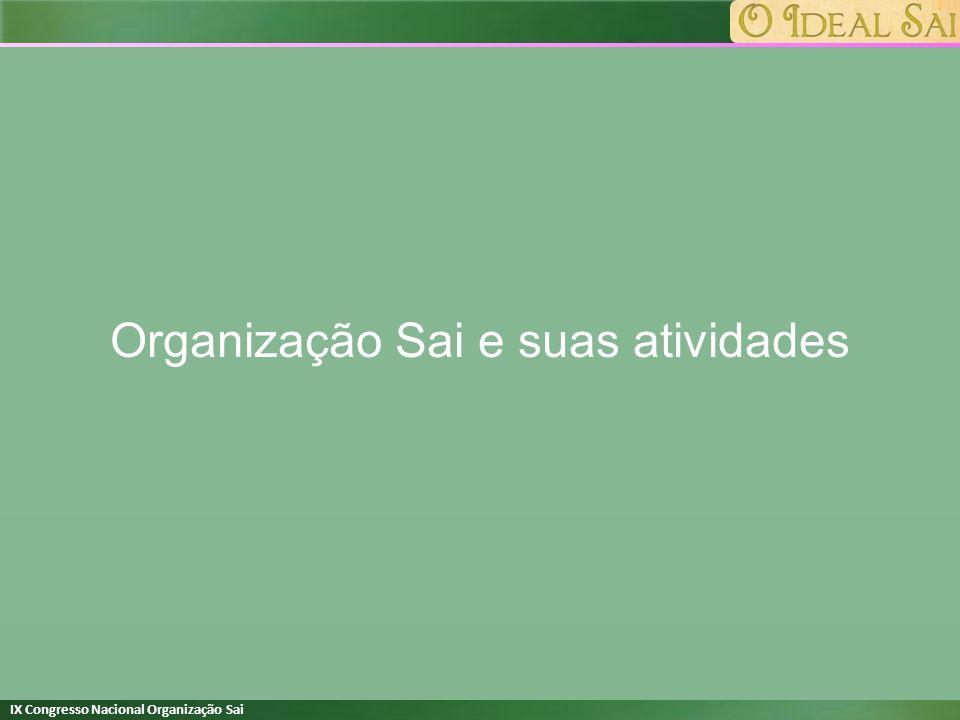 Organização Sai e suas atividades