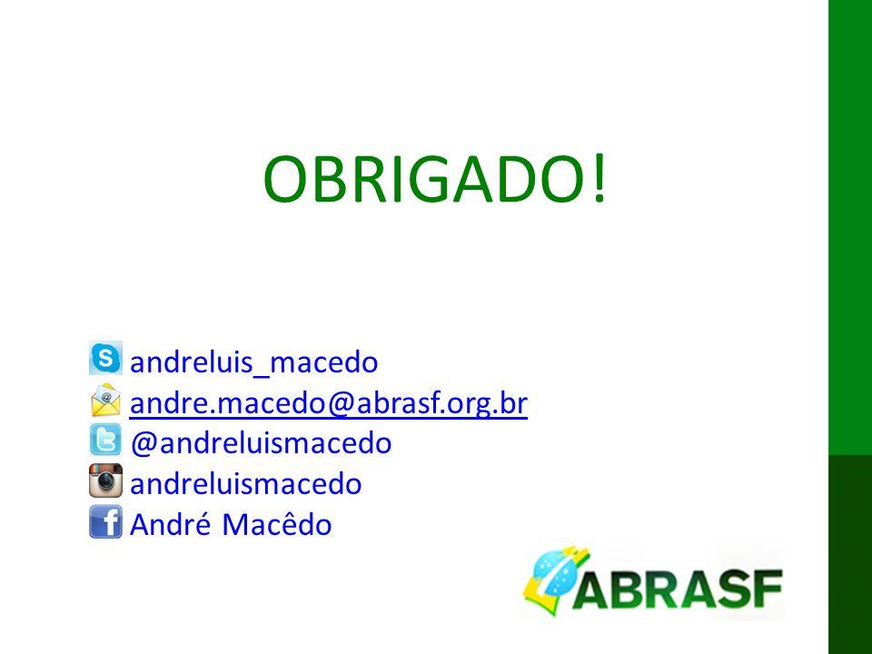OBRIGADO! andreluis_macedo andre.macedo@abrasf.org.br @andreluismacedo