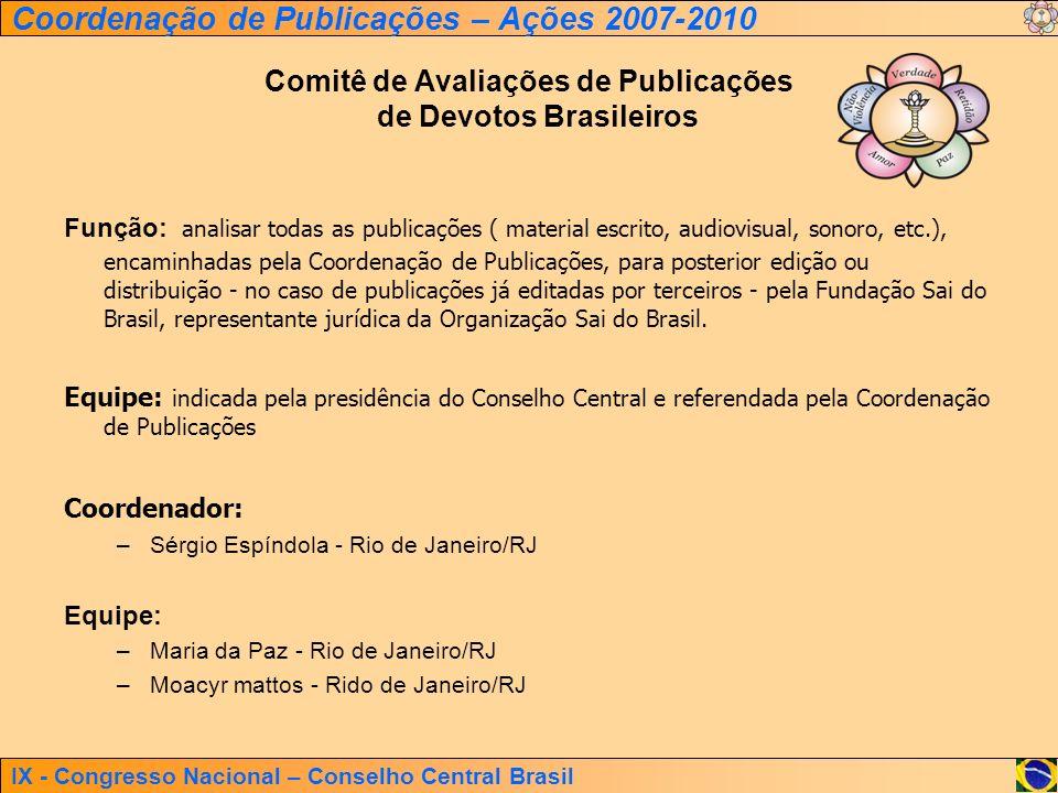 Comitê de Avaliações de Publicações de Devotos Brasileiros