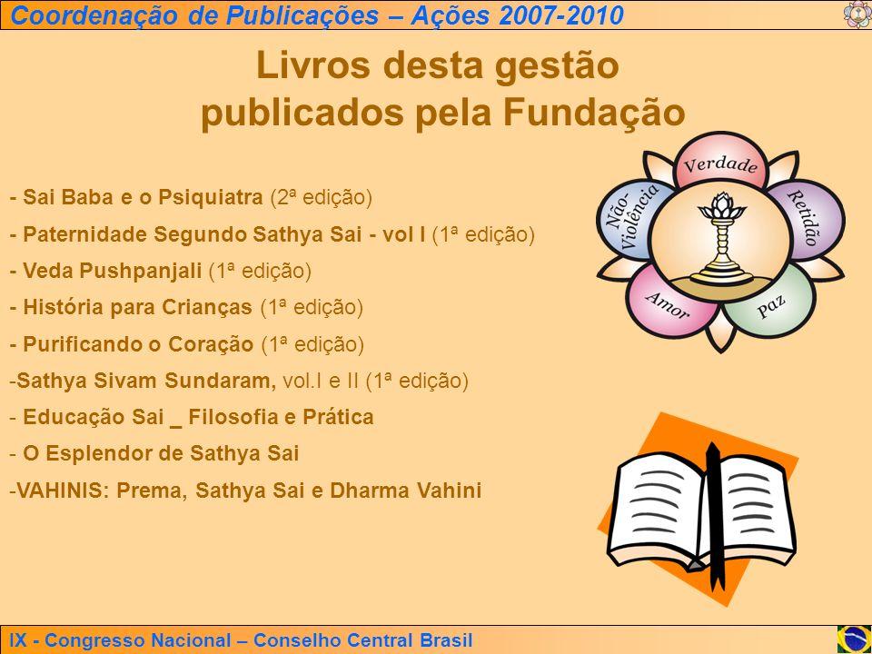 publicados pela Fundação