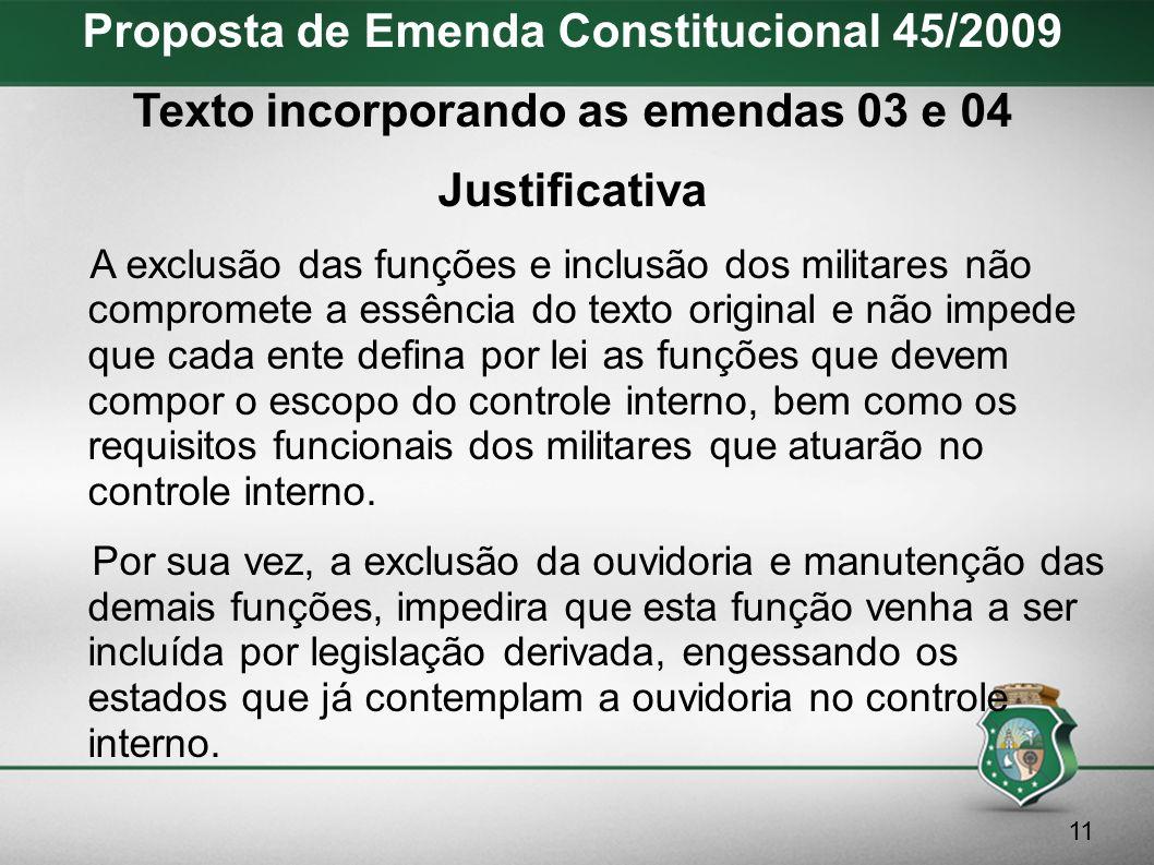 Proposta de Emenda Constitucional 45/2009