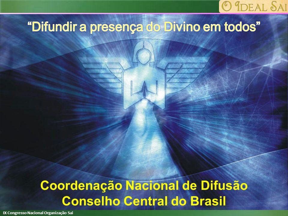 Coordenação Nacional de Difusão Conselho Central do Brasil