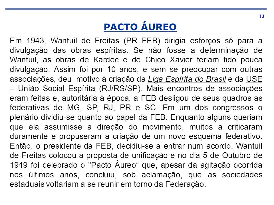 PACTO ÁUREO