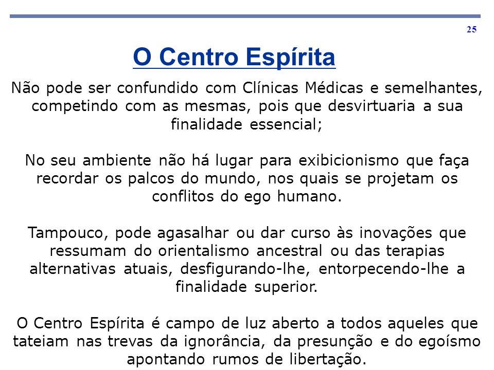 O Centro Espírita