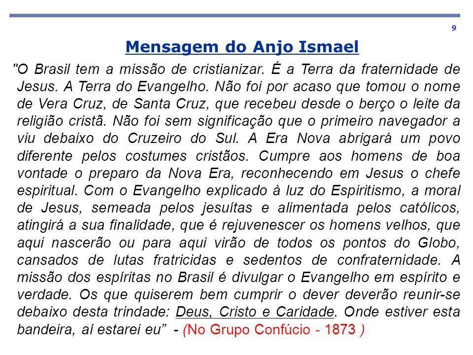 Mensagem do Anjo Ismael