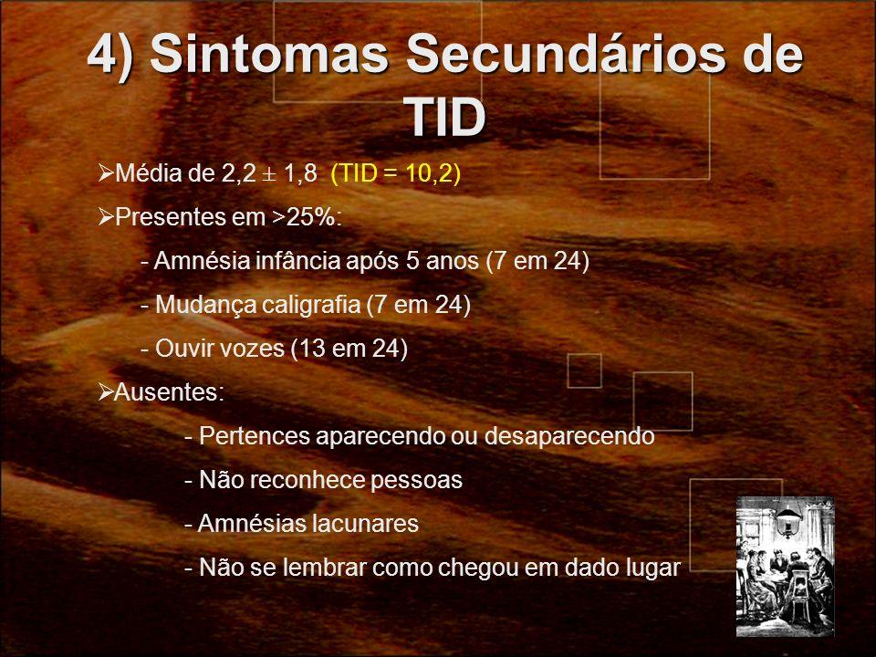 4) Sintomas Secundários de TID