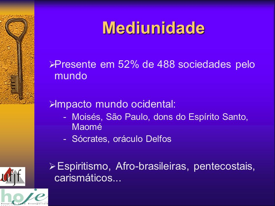 Mediunidade Presente em 52% de 488 sociedades pelo mundo