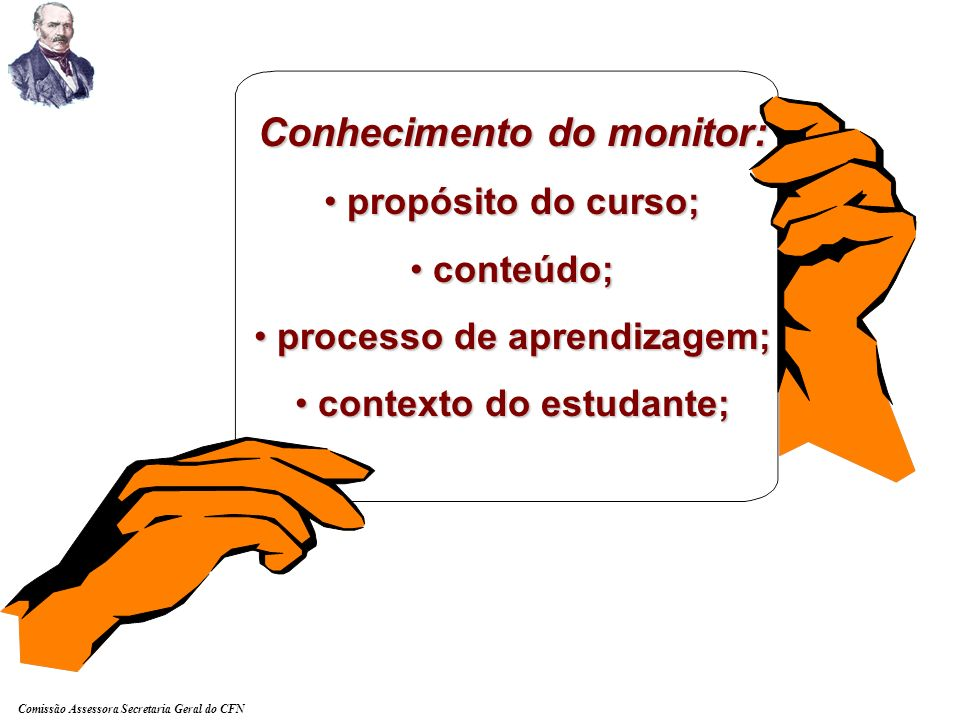 Conhecimento do monitor: