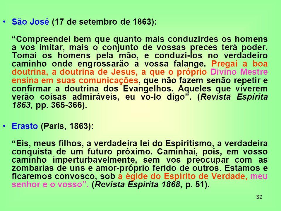 São José (17 de setembro de 1863):