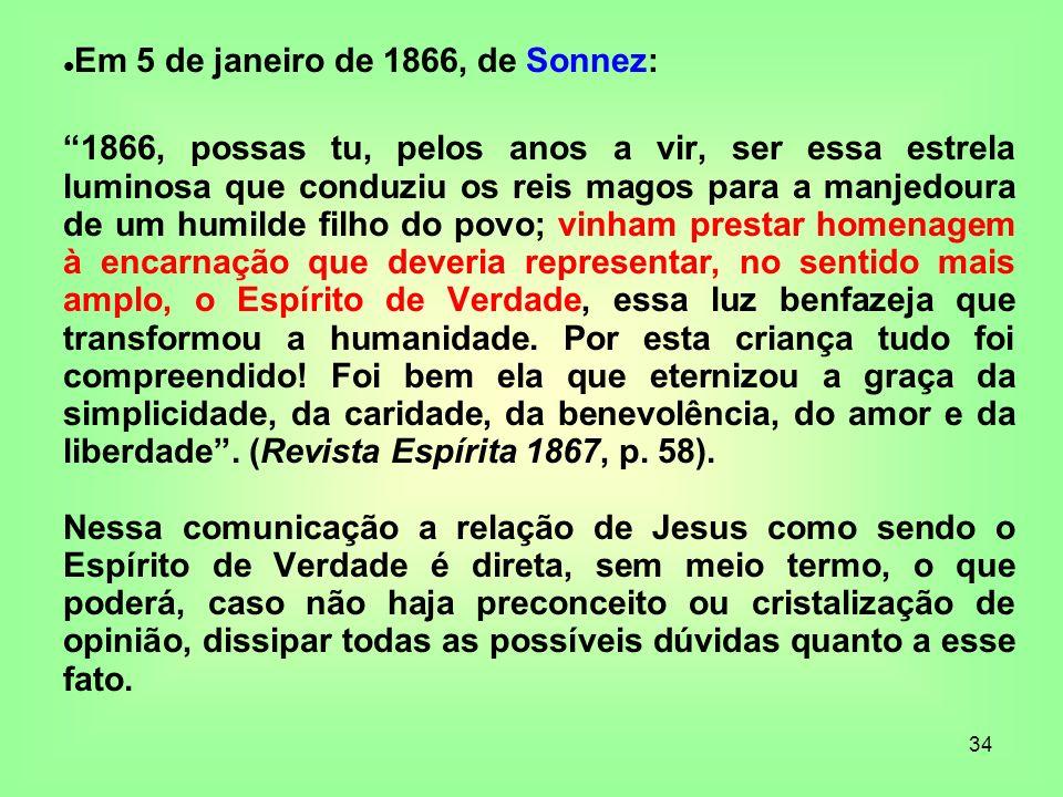 Em 5 de janeiro de 1866, de Sonnez: