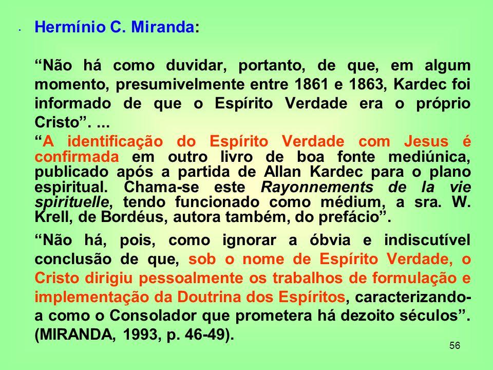 Hermínio C. Miranda: