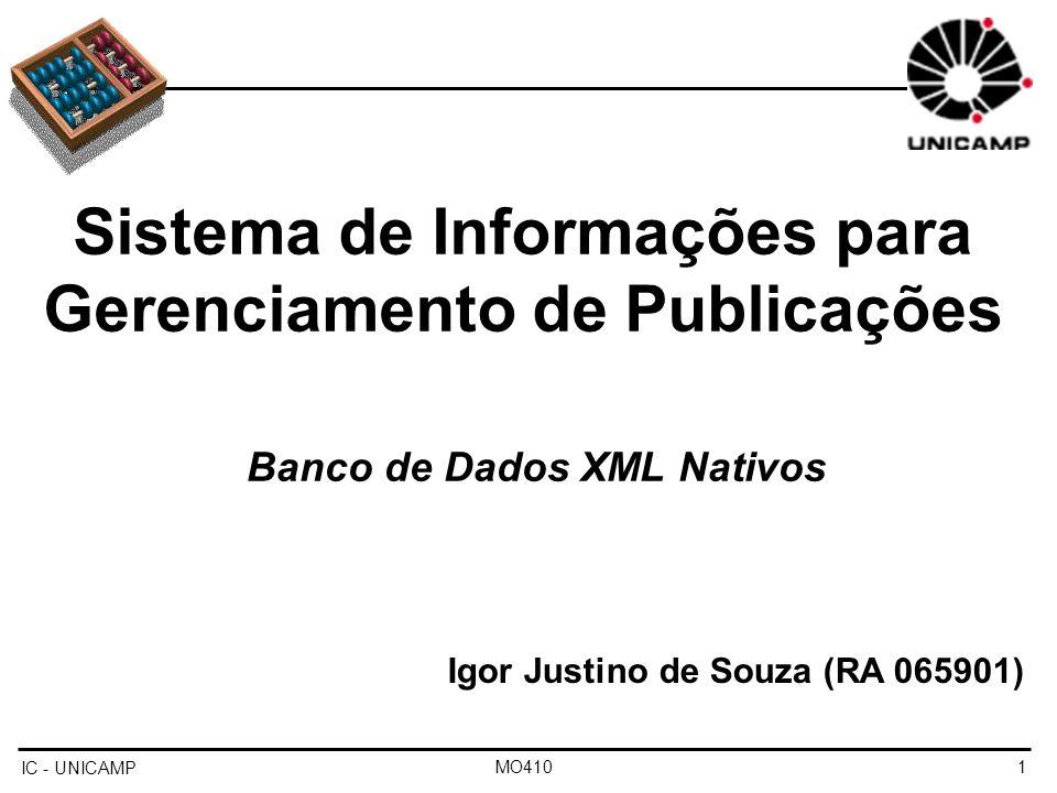 Sistema de Informações para Gerenciamento de Publicações