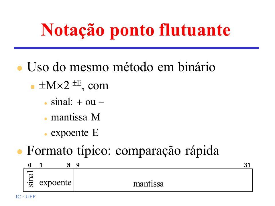 Notação ponto flutuante
