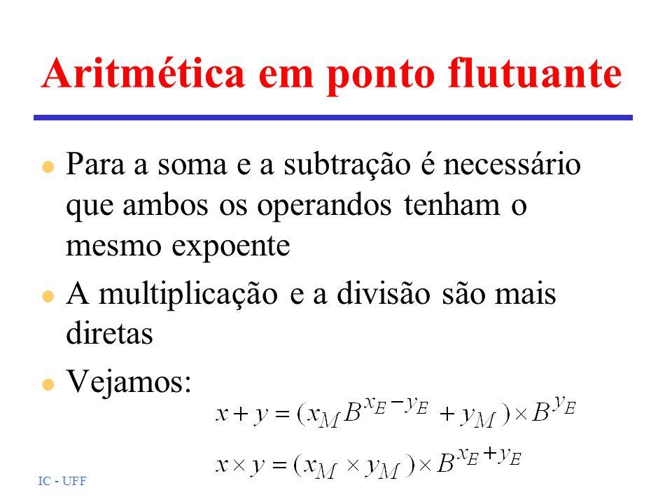 Aritmética em ponto flutuante