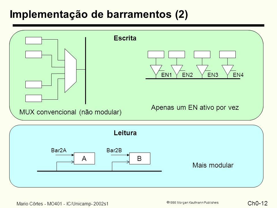 Implementação de barramentos (2)